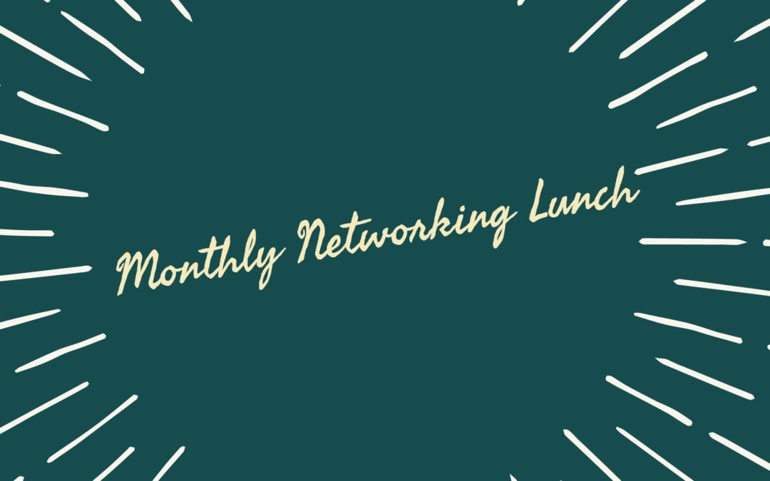 October Networking Lunch | Stop overthinking!