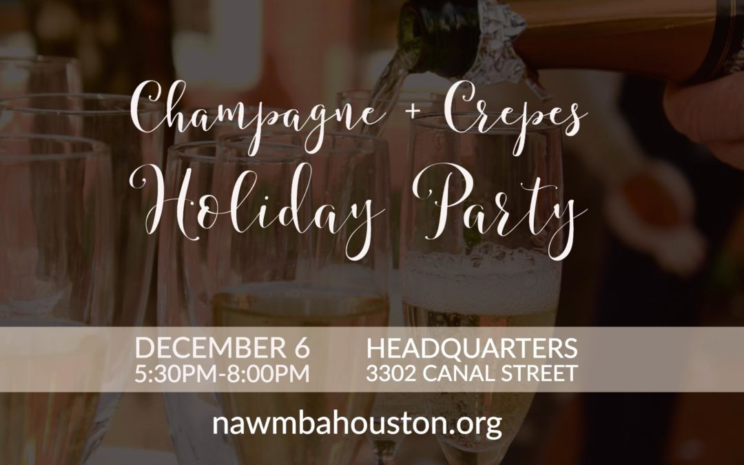 NAWMBA Houston Champagne and Crepes Holiday Party